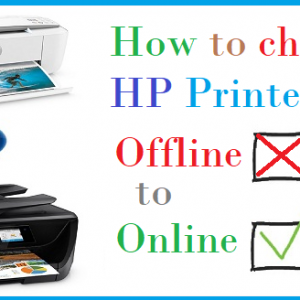 How to change HP Printer from Offline to Online