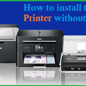 How to install the Brother Printer without CD