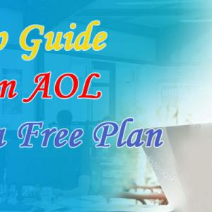 Step By Step Guide To Change an AOL Account to a Free Plan