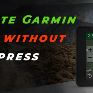 Can I update Garmin Nuvi Maps without Garmin Express