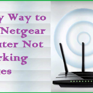 Easy Way to Fix Netgear Router Not Working Issues