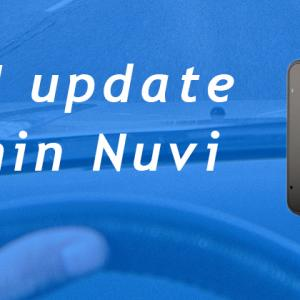 How do I update my Garmin Nuvi