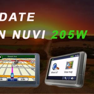 How to Update the Garmin Nuvi 205W