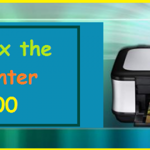 How to fix the Canon Printer Error 5800