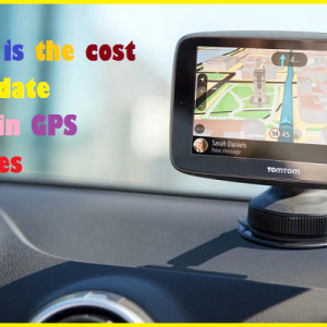 What is the cost to update Garmin GPS Devices