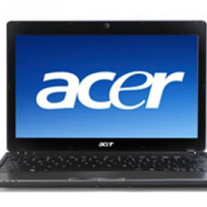 Acer Iconia Laptop - Innovative features and sleek design