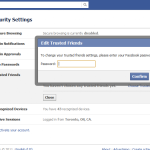 How to recover my Facebook account password