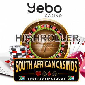 "SouthAfricanCasinos.co.za Votes Yebo ""Best Highroller Casino 2020"""
