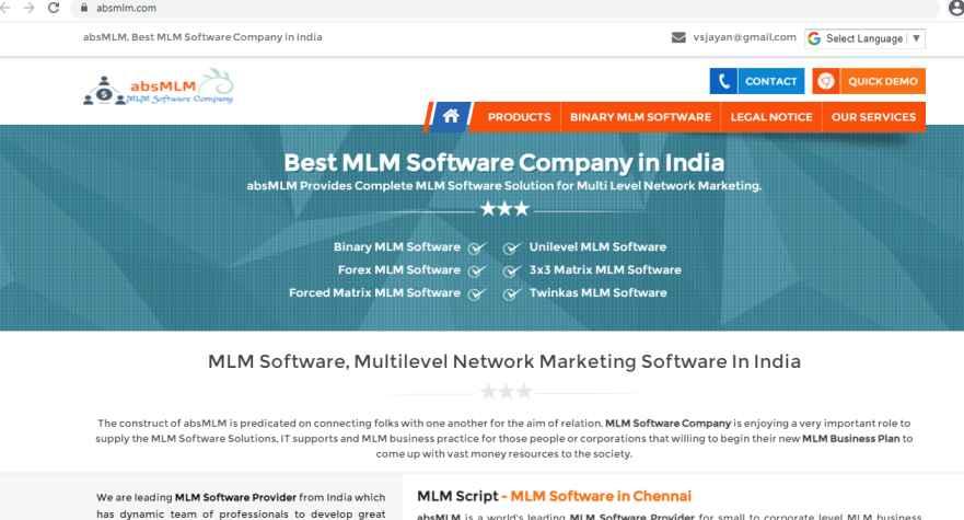 READYMADE PHP MLM SCRIPT Tamil nadu