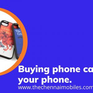 Buying phone cases for your phone.