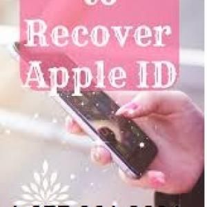 Apple id account recovery