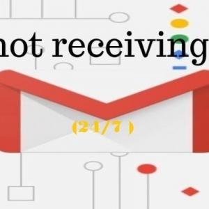 How can i resolved issues gmail not receiving emails?